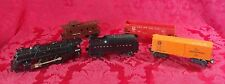 Lionel Locomotive #2034 027 Train Engine Set 6024 Orange Boxcar 6476 Red Lehigh