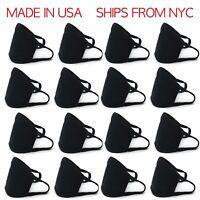 SALE! 10PCS - Reusable Mask Washable Black Face Cover Protective Mouth Unisex