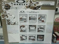 OAKLEY 2013 snowboard ski MX Airbrake Goggle dealer display New Old Stock