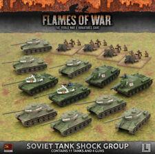 Flames of War NUOVO CON SCATOLA SOVIETICA SHOCK SERBATOIO GRUPPO suab 08