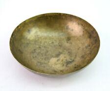 Old Vintage Bronze Singing Bowl Meditation Bowl Collective Hammer Bowl G27-15 US