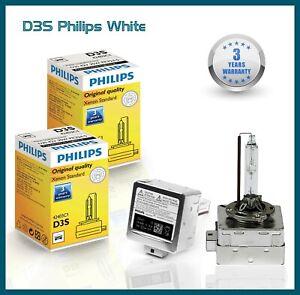 2x Philips D3S Lampade Xenon Hid 35W 5000K Anabbaglianti Mercedes CLA C117 12-18