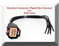 Electrical Connector For EGR Valve Fits: Mitsubishi Nissan Subru Suzuki Toyota &