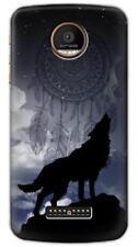 Dream Catcher Wolf Howling Phone Case for Moto Z3 Z2 Z Force Play G6 G5 E6 E5 E4