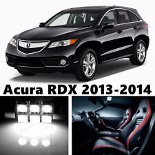 12pcs LED Xenon White Light Interior Package Kit for Acura RDX 2013-2015