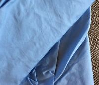 Twin Extra Long XL Featherbed Cover Robins Egg Blue 300TC Company Store Sky