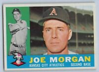 "1960  JOE MORGAN - Topps ""ROOKIE"" Baseball Card # 229 - KANSAS CITY ATHLETICS"