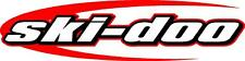 "Ski-doo swoosh snowmobile sticker decal 22"" red"