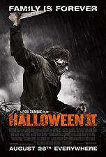 HALLOWEEN 2 Michael Myers MOVIE Silk Fabric POSTER Horror Remake Rob Zombie