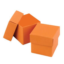 New Hbh Orange Favor Boxes 25 pc.