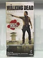 VINTAGE THE WALKING DEAD TV SERIES ZOMBIE SURVIVAL CARD GAME COMPLETE IN BOX!!!