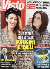 Visto 2018 6  Laura Pausini-Nina Zilli,Giorgia Todrani,Woody Allen,Joe Kennedy