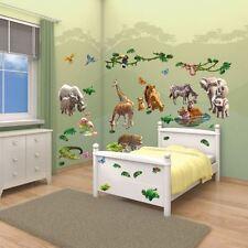 Décorations maison à motif Animaux pour enfant Chambre d'enfant