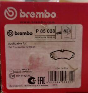 BREMBO P85028 Brake Pad Set Transporter T4 1990- 2003 WVA20124 TH19.00 NEW