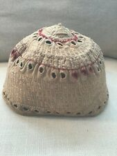 Antique Muslin Eyelet Embroidery Charming Child's Cap
