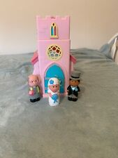 ELC HappyLand Church & Wedding Party Figure Set Sounds Working