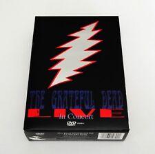 Grateful Dead Live In Concert DVD Box Set 1987 1989 1990 3-DVD-Set 7 1/2 Hours !
