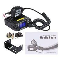 QYT KT-8900D Dual Band Quad Standby 5Tone VHF UHF Car/Truck Ham Mobile Radio QE