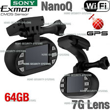 NanoQ Dash camera WIFI 0903 GPS Car Super Capacitor Sony Recorder Blackbox 0806