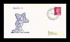 DR JIM STAMPS APOLLO 16 ISLAND LAGOON WOOMERA AUSTRALIA SPACE COVER
