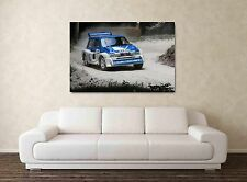 Metro 6R4 -  30x20 Inch Canvas Rally Framed Picture Painting Print Group B