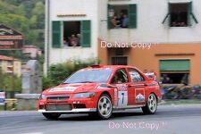 Tommi Makinen Mitsubishi Lancer EVO WRC Tour de Corse Rally 2001 fotografía 2
