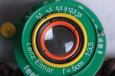 Leitz Elmar 3.5/50 mm RF M39 Lens LEICA Zeiss Eleitz Wetzlar EXCELLENT