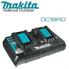 Makita DC18RD 18V LXT® Li Ion Dual Port Rapid Optimum Charger w/Full Warranty