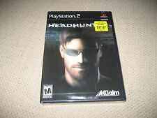 Headhunter (Sony PlayStation 2, 2002) - PS2 Game Brand New