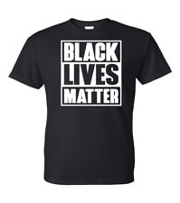 Black Lives Matter T-Shirt I Cant Breathe All Size (S-5XL) + Color Free Shipping