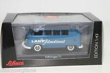 SCHUCO 3189 VW VOLKSWAGEN TRANSPORTER T1 LANZ FILMDIENST MINT BOXED