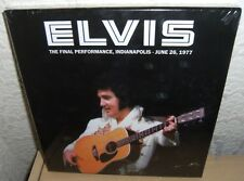 "ELVIS PRESLEY BOOK + 2 CD ""THE FINAL PERFORMANCE"" 2016 INDIANAPOLIS JUNE 26 1977"