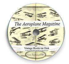 The Aeroplane Magazine 600 issues on DVD History Flight WW1 Aviation Aircraft 27