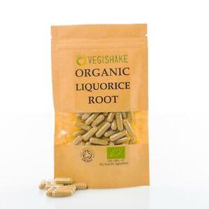 Organic Liquorice Root Glycyrrhizin HPMC Immune-Boosting Anti-Inflammatory Vegan