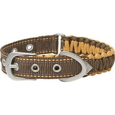 Browning Survival Cord Dog Collar Safety Size S (10-16 in.) Brand New With Tags