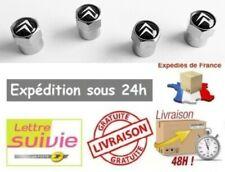 4 Bouchons de valve CITROEN C1 C2 C3 C4 C5 C8 2CV Picasso DS3 DS4 DS7 Crossback