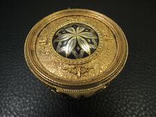 Arts Crafts Nouveau Damascene  jewelry box