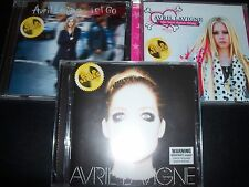 Avril Lavigne x 3 (Australia) (Gold Series) CD Best Damn Thing / Let Go / Self T