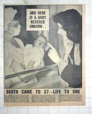 1950 Vicy Zeldsdorf Delivers Beautiful Baby After California Air Crash