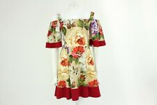Dolce & Gabbana Floral Off The Shoulder Dress Size 40 UK 8 BNWTS