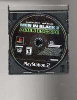 Men in Black II 2 Alien Escape (PS2 Playstation 2)  DISC ONLY