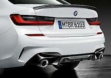 Bootlid Spoiler Matt Black Genuine BMW G20 3 Series M Performance 51192455880