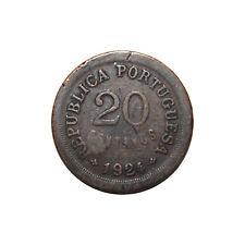 KM# 574 - 20 Centavos - Portugal 1924 (VG)