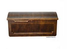 Snoc Vintage Cast Aluminum Wall Mount Mailbox - Very Sturdy Classic Mail Box