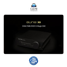 AUNE X8 768kHz DSD DAC DIGIT. KHV ANALOG CONV USB DA - AD WANDLER HIGHEND - BL