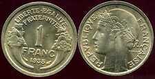 FRANCE FRANCIA  1 franc MORLON 1938  SUP  ( ca )