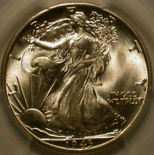 1943-D Walking Liberty Half Dollar PCGS Secure & CAC MS-67! A WOW coin!