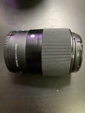 Sigma 30mm f/1.4 DC DN Contemporary Lens (for Sony E)
