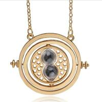 Costume Necklace Harry Potter Hermione Granger spinTime Turner Hourglass pendant