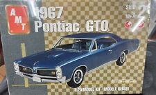 AMT 38058 1967 PONTIAC GTO Hardtop KIT 1/25 Model Car Mountain  FS